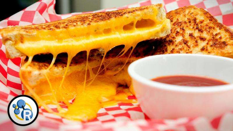 The science of the perfect grilled cheese sandwich (video)