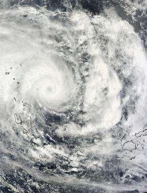 Tropical Cyclone Pam gives NASA an eye-opening view