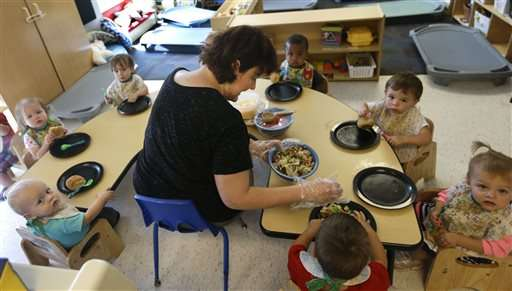 USDA proposes healthier fare for child, adult day cares