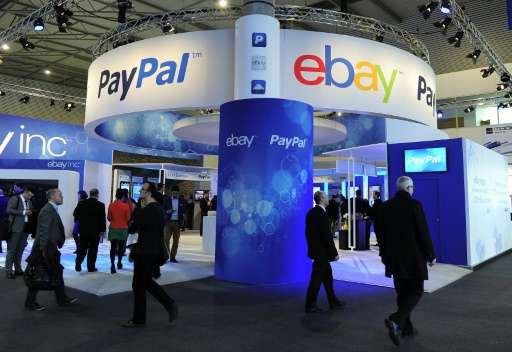 US online giant eBay said its board approved the planned spinoff of its PayPal online payments unit, which will trade as an inde