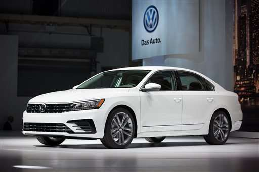 Volkswagen brand US sales fall nearly 25 percent in November