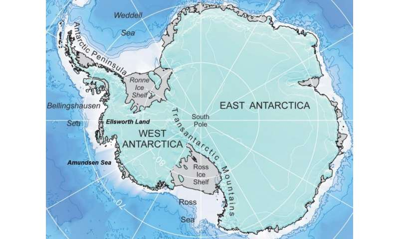 West Antarctic coastal snow accumulation rose 30 percent during 20th century