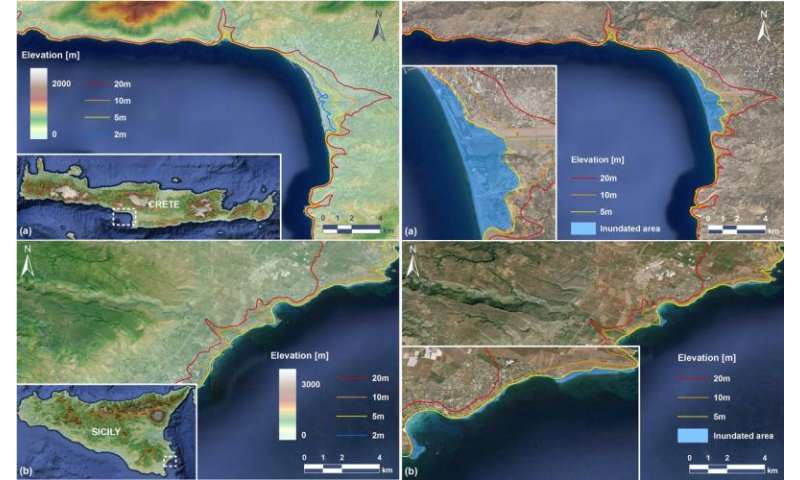 What would a tsunami in the Mediterranean look like?