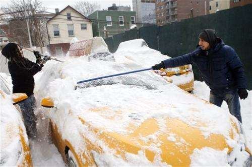 Where did the snow go? Blizzard was a miss, not a bust