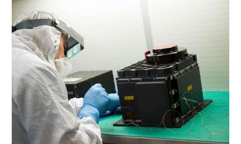 York U-led laser instrument to help bring home asteroid sample by NASA mission