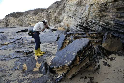 Finding California oil spill's cause could take months
