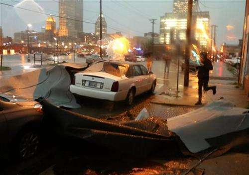 One person killed when tornadoes hit Oklahoma, Arkansas (Update)