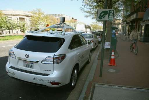San Francisco police have pulled up a Google driverless car for moving slowly