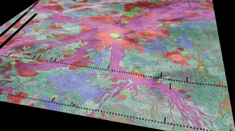 Study suggests active volcanism on Venus