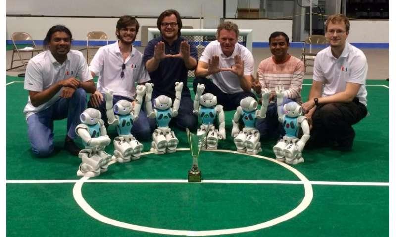 University of Miami's RoboCanes win RoboCup US Open 2015