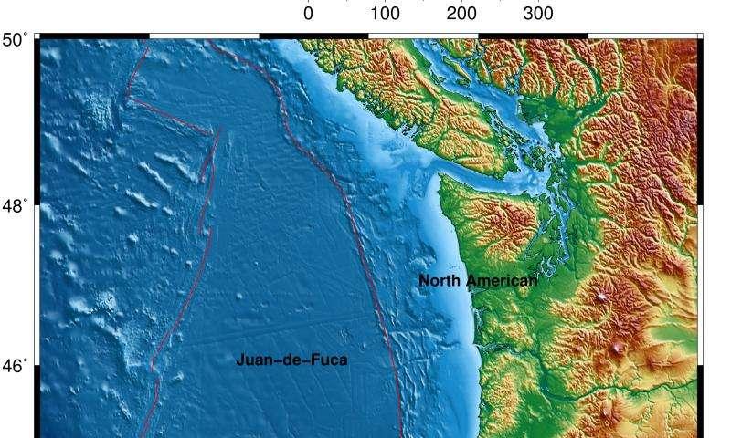 Scientists map source of Northwest's next big quake