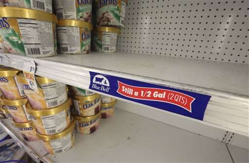 Blue Bell says it's still trying to pinpoint listeria cause