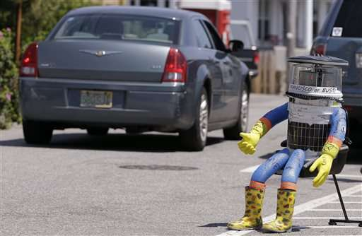 Hitchhiking robot's cross-country trip in US ends in Philly