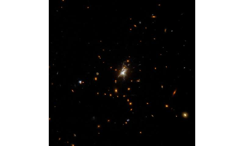 A fresh perspective on an extraordinary cluster of galaxies