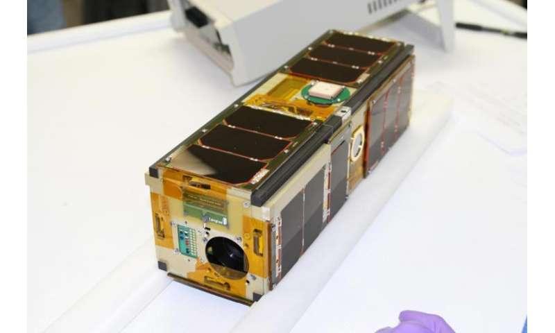 An unlikely pair of satellites