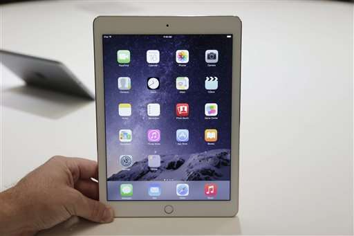 Apple's Mac is selling strong, iPad not so much