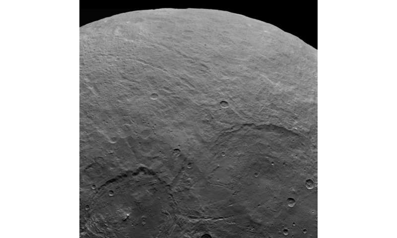 Ceres spots continue to mystify in latest Dawn images