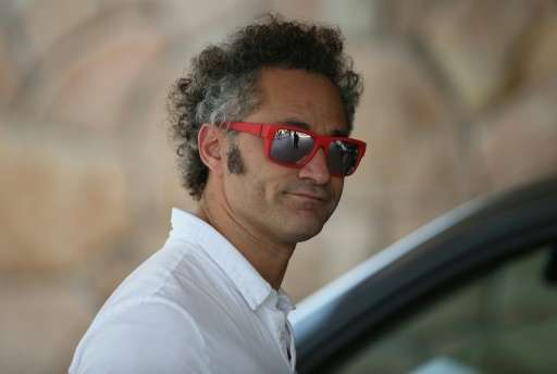 Co-founder and CEO Alexander Karp, pictured July 7, 2015 in Sun Valley, Idaho, heads data-analytics firm Palantir Technologies,