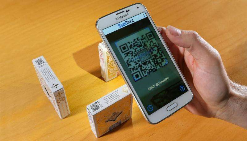 Combatting counterfeiting using QR codes