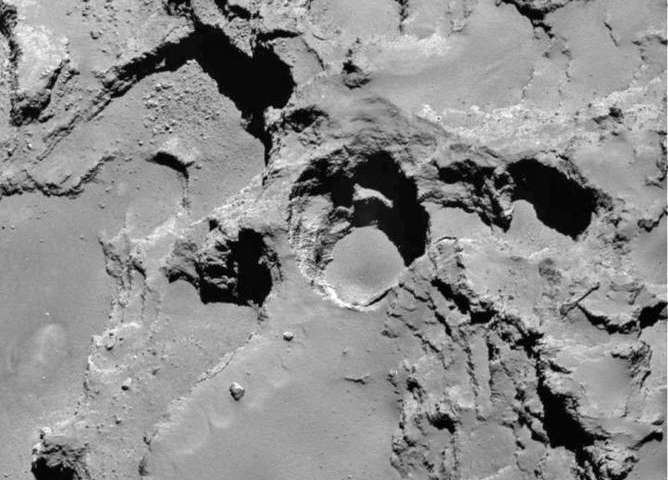 Could sinkholes on 67P/Churyumov-Gerasimenko pose yet another risk to Philae?