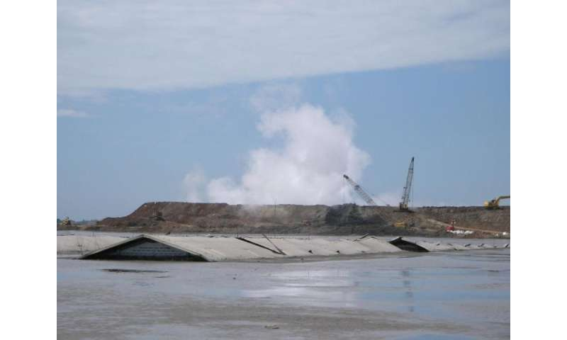 Earthquake not to blame for Indonesian mud volcano