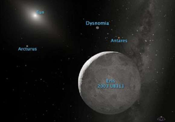 Eris' Moon of Dysnomia