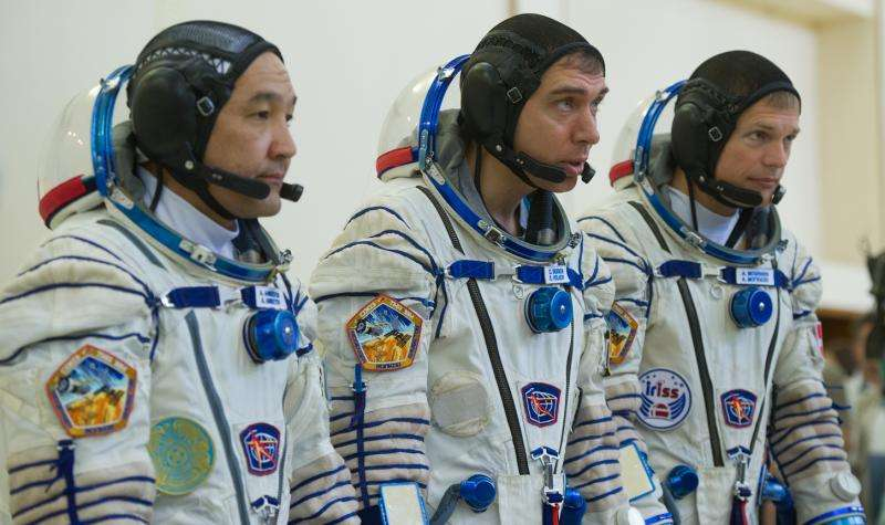 ESA's next astronaut to go into space arrives at launch site
