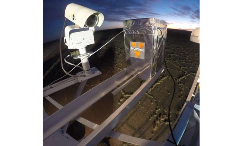 Experiment to measure cosmic radiation in the stratosphere aboard a NASA high-altitude balloon