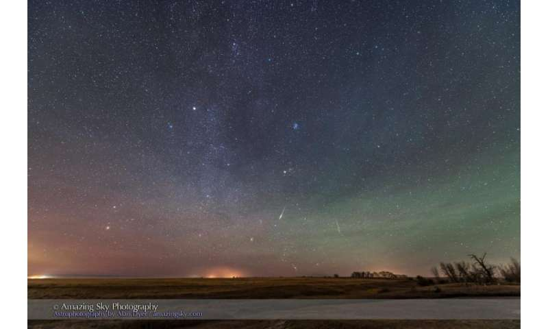 'Explody' Taurid meteors produce persistent trains