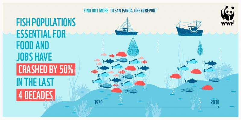 Failing fisheries and poor ocean health starving human food supply