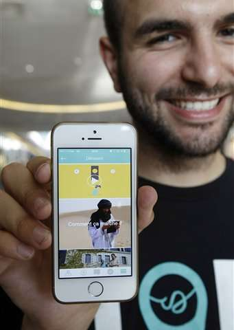 French app hopes to link Muslim faithful with prayer sites