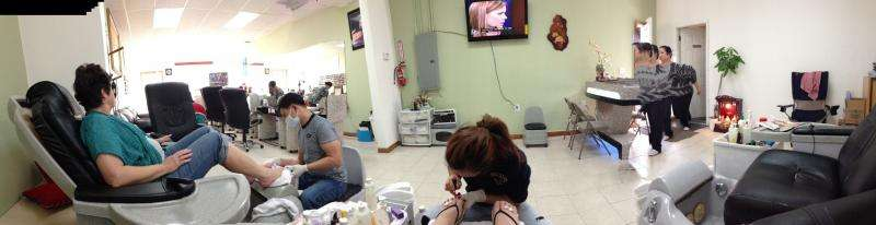 Health risks beneath the painted beauty in America's nail salons