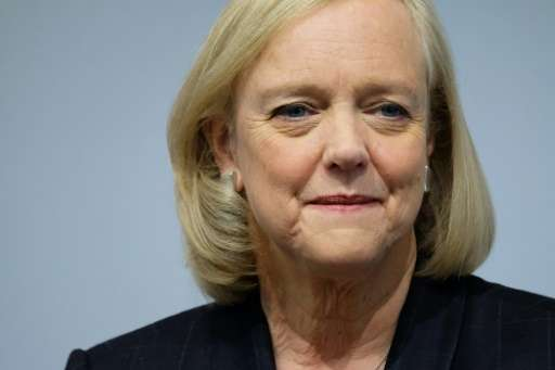 Hewlett-Packard Enterprise Chief Executive Officer Meg Whitman told reporters in New York on November 2, 2015 the newly formed b