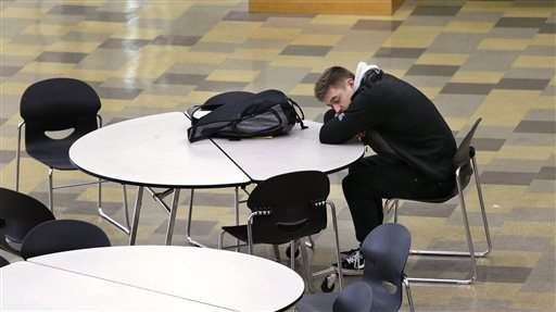 High schools listening to scientists, letting teens sleep