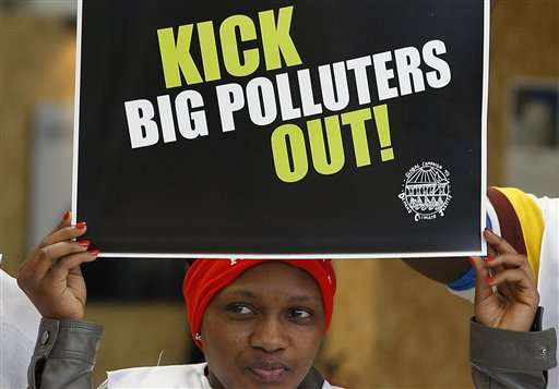 India, Brazil resist bid for long-term carbon goals