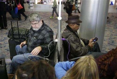 Las Vegas airport preps for tech-savvy travelers