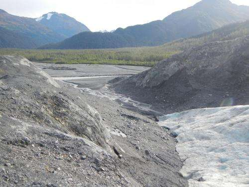 Massive amounts of fresh water, glacial melt pouring into Gulf of Alaska
