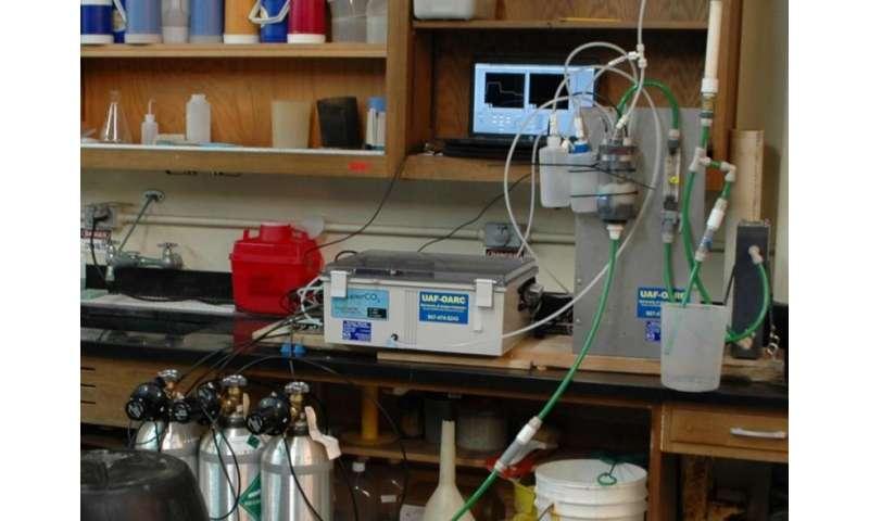 Monitoring seawater reveals ocean acidification risks to Alaskan shellfish hatchery