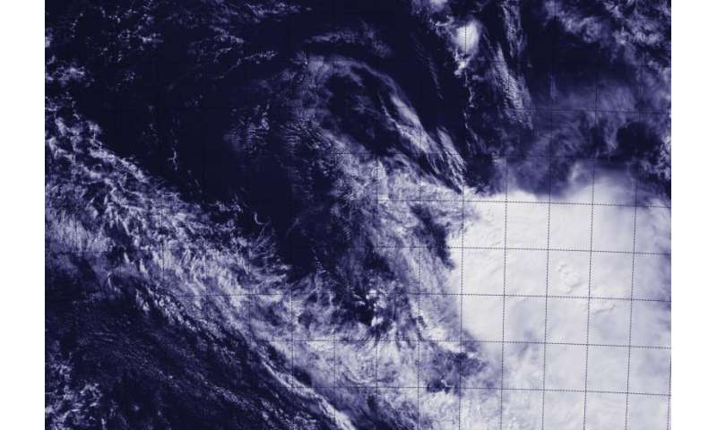 NASA-NOAA satellite sees the end of Tropical Cyclone Ikola