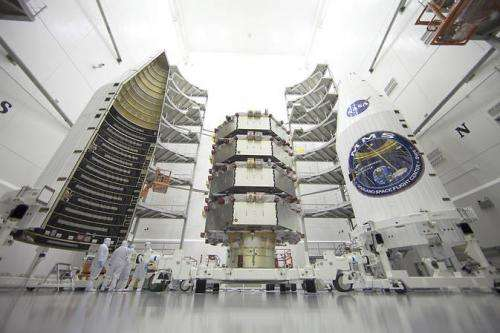 NASA spacecraft prepares for March 12 launch to study earth's dynamic magnetic space environment