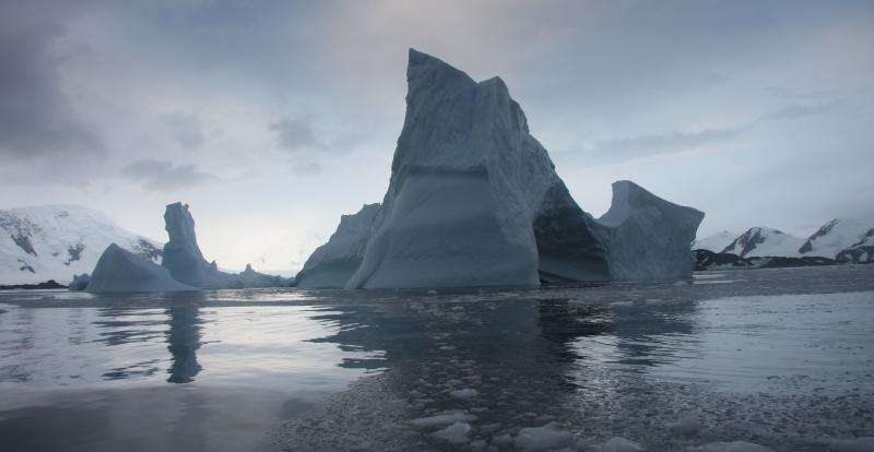 NASA study shows Antarctica's Larsen B ice shelf nearing its final act