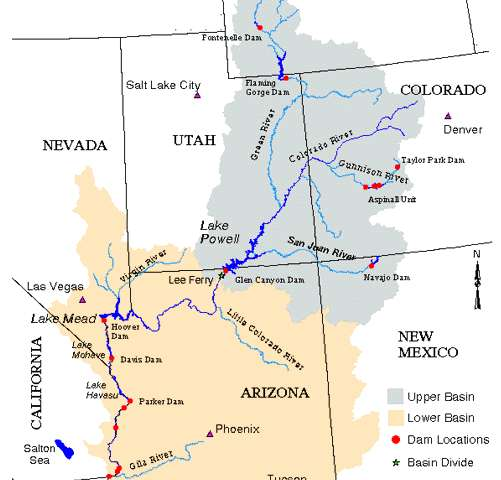 Nature, not humans, has greater influence on water in the Colorado River Basin