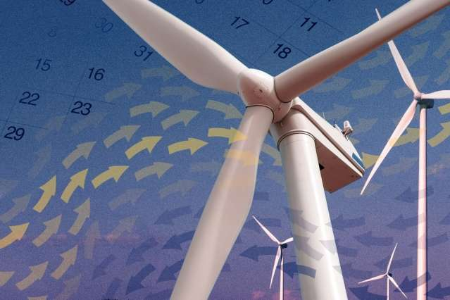 New model predicts wind speeds more accurately with three months of data than others do with 12