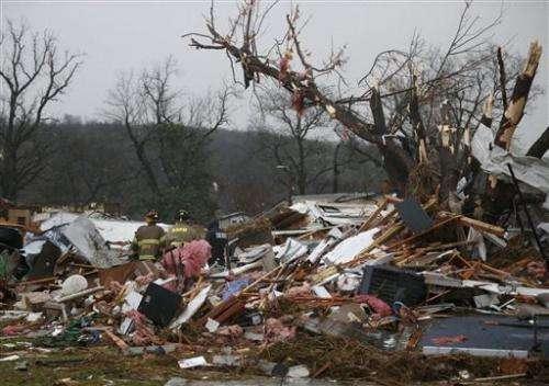 One Person Killed When Tornadoes Hit Oklahoma Arkansas
