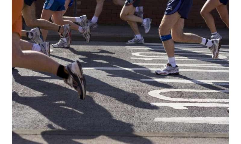 Optimum style for running a marathon?