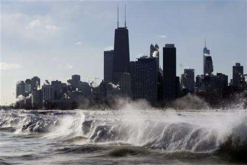Ready to shiver?  Arctic air to put America on ice