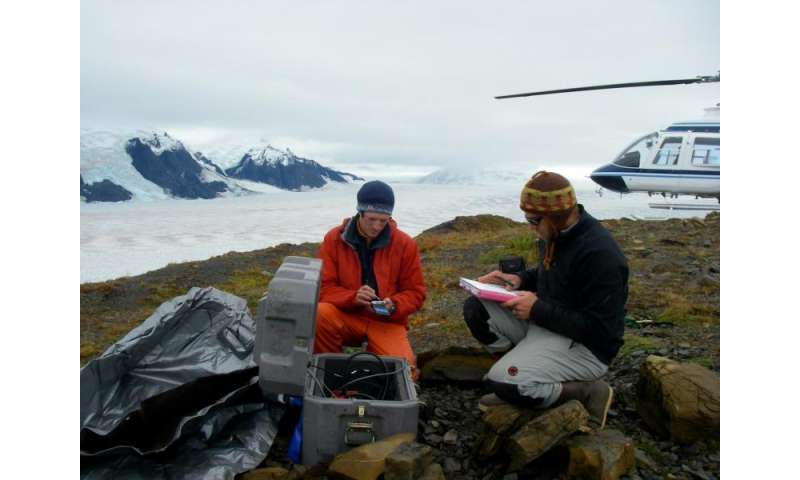 Scientists pioneer method to track water flowing through glaciers