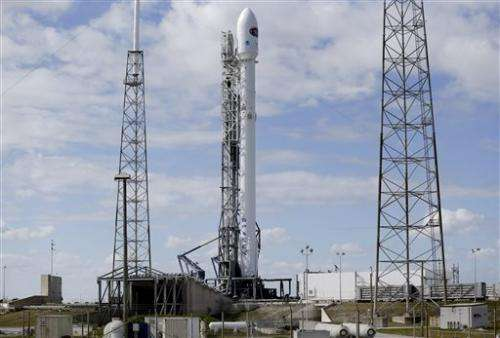 SpaceX calls off  launch of space weather satellite (Update)