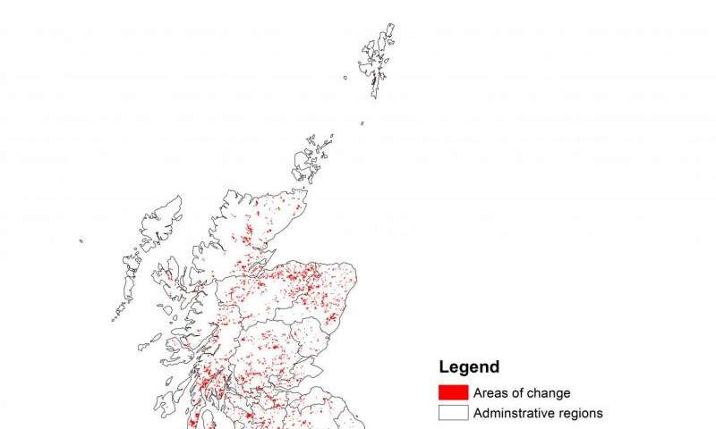 State of our countryside: Land use map of United Kingdom reveals large-scale changes in environment