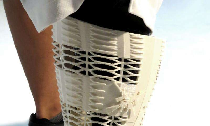 Students' designs give prosthetics a new look